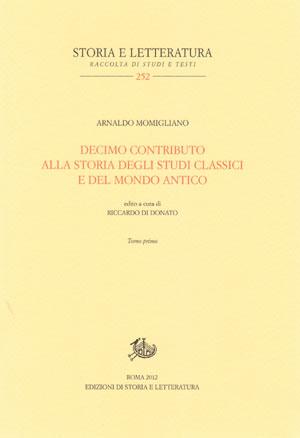Arnaldo Momigliano, Decimo Contributo