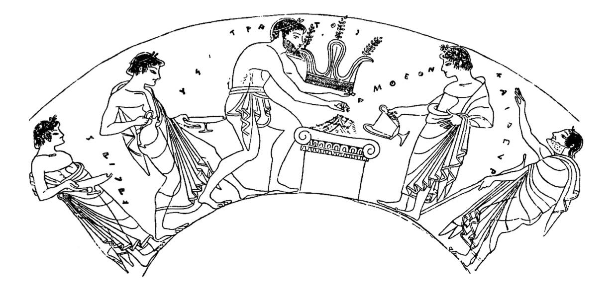 Sacrificanti, sacrificatori e commensali: partecipare al sacrificio nell'Elettra di Euripide